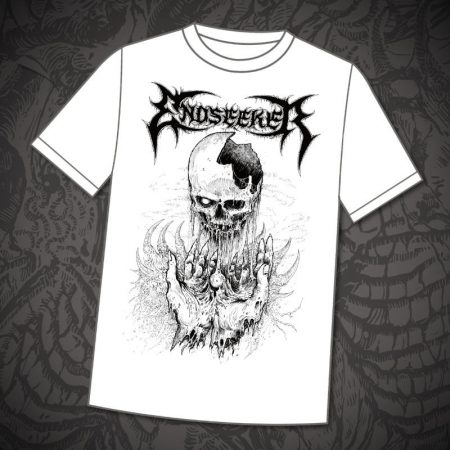 Endseeker - Shirt CR white 2017